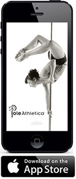 Download the Pole Athletica app via Itunes