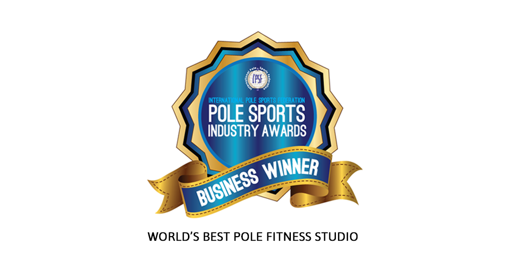 We won the IPSF industry award for best pole fitness studio!