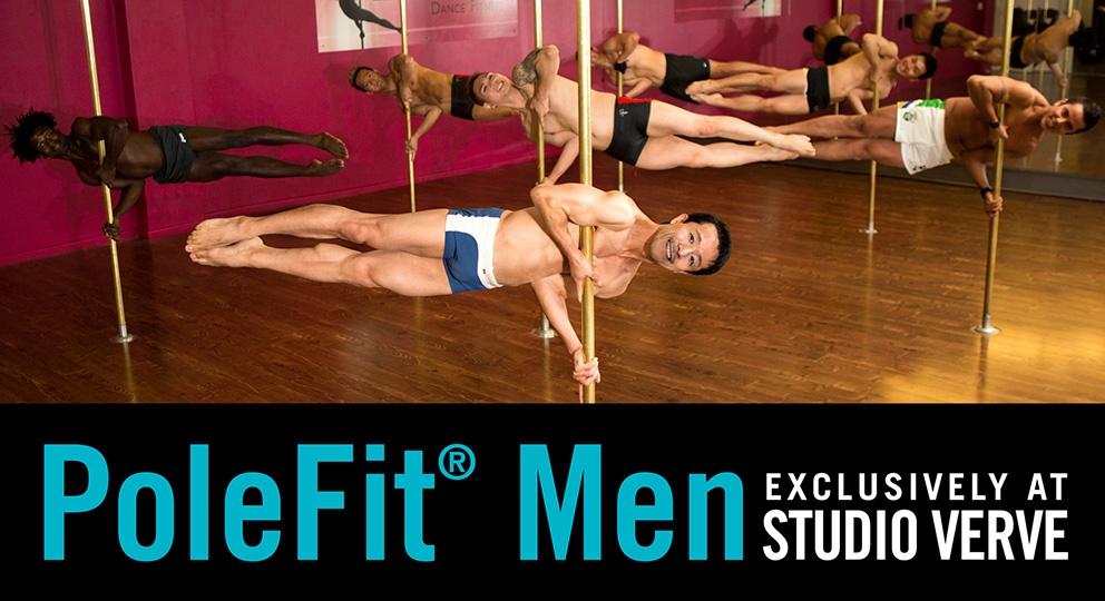 PoleFit Men - Pole Dancing classes and courses at Studio Verve Dance Fitness, Sydney