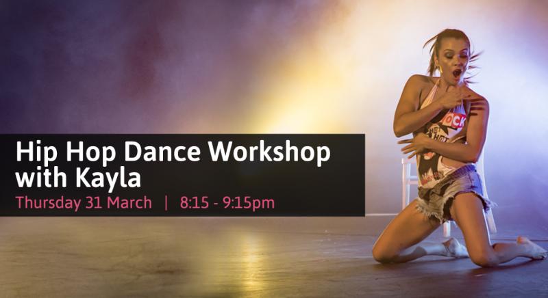 Kayla Hip Hop Dance Workshop Studio Verve Pole Dance Fitness Class