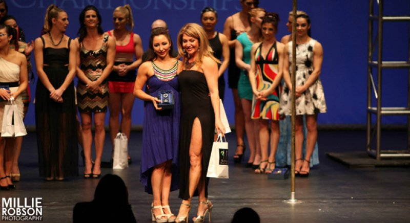 Studio Verve Instructor Jennifer Grace places 2nd Runner up in the Amateur Division at APC