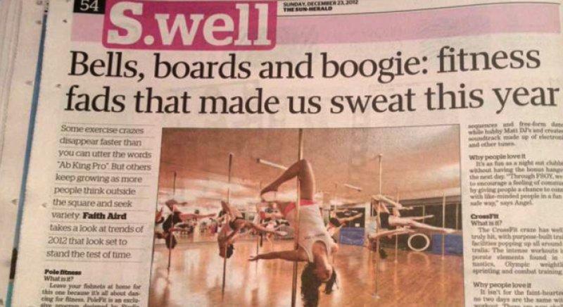 Studio Verve in Sun Herald article 23 December 2012