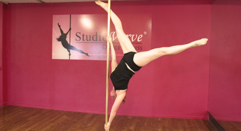 PoleFit Student Simone speaks to Studio Verve about her pole dance journey