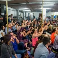 Studio Verve Open Night Crowd