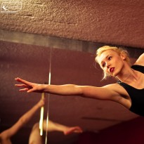 Learn pole dancing in Sydney. Perfect your pole skills, technique and have fun while learning pole dance for fitness and fun!