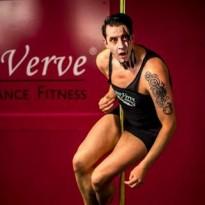 Jamie McGillivray 2015 Polarity Pole Show Dancer