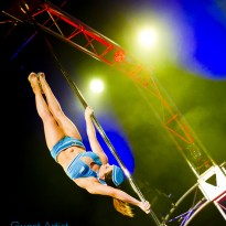 "Kristy Sellars is a featured Guest Artist in Pole Evolution's latest production ""Elements"""
