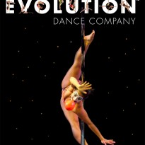 "Sergia Louise Anderson is a featured Guest Artist in Pole Evolution's latest production ""Elements"""