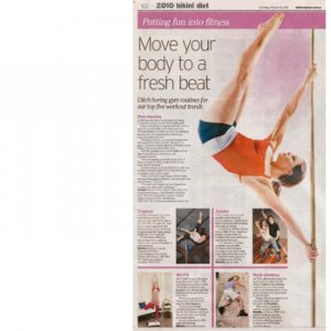 Studio Verve in the Daily Telegraph Saturday 6 February 2010