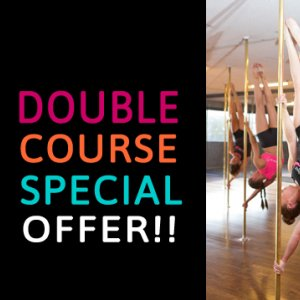 Book into two Pole Dancing courses at Studio Verve and get a huge discount off your second PoleFit course