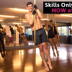 New Class PoleFit Unisex Skills Only Pole Class Surry Hills Sydney Studio Verve Dance Fitness