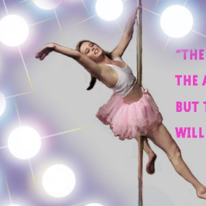 PoleFit Instructor Jane talks about her first ever pole dance performance experience