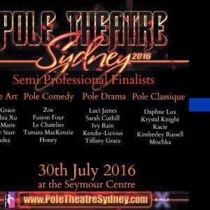 Pole Theatre Studio Verve Dance Fitness Surry Hills Competitive Pole Comedy Fusion Four
