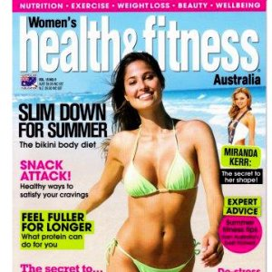 Studio Verve in Womens Health & Fitness Magazine November 2009